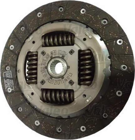 Zestaw Valeo sztywne koło zamachowe + sprzęgło Citroen C4
