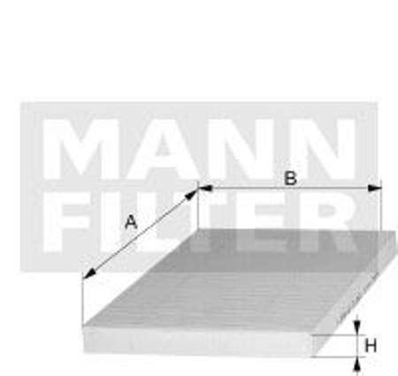 Filtr kabinowy MANN Seat Ibiza III